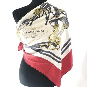 Authentic vintage Hermès Brides de Gala scarf🧣